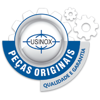 Peças originais Usinox. Qualidade e garantia.