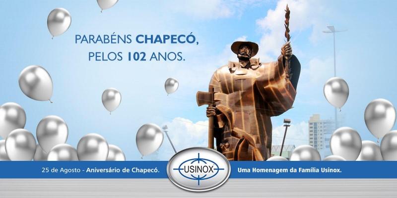 Chapecó 102 anos