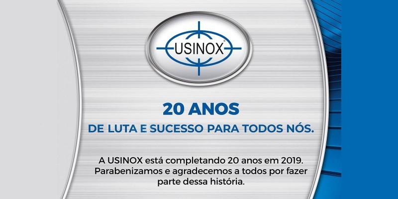 Usinox completa 20 anos