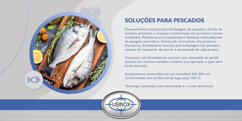 Soluções para embalagem de pescados.