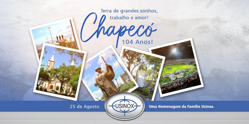 Chapecó 104 anos