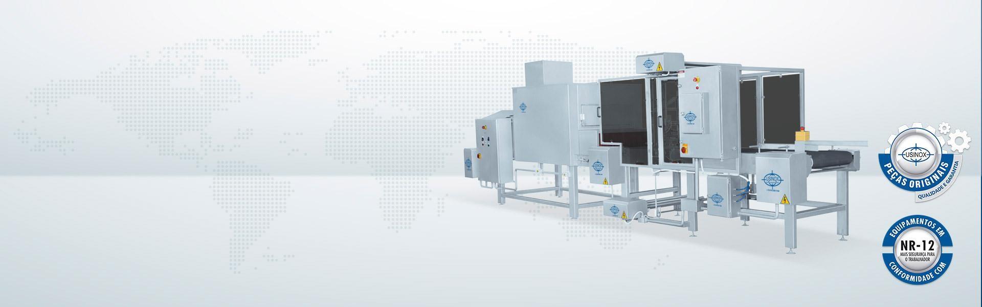Conjunto seladora de caixas e túnel de encolhimento SDCU-1600