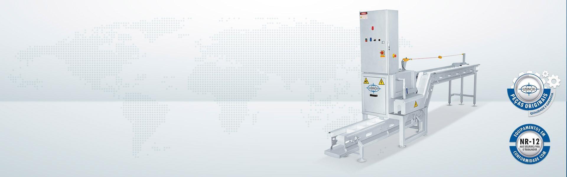 Repassadora Automática de Moelas RMAU-7000